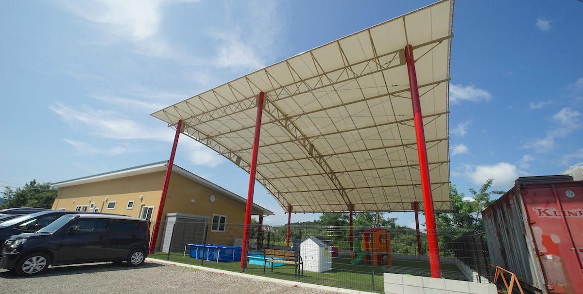 デザインテント屋根