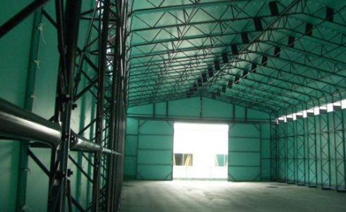 テント倉庫(トラスタイプ)