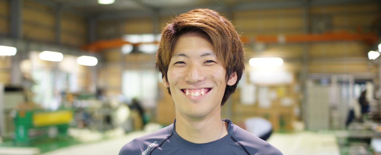 社員紹介,田口さん正面写真