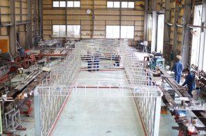 鉄工工場内写真